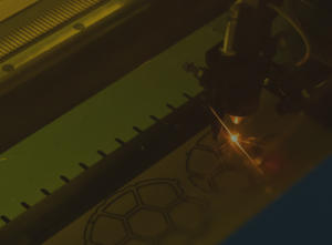 Laser Cutting at Warwick Acoustics